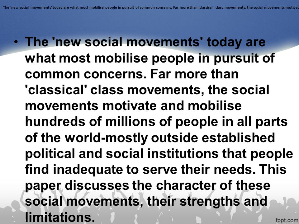 eco feminism political and social movement essay Eco-feminism is the social movement that regards the the political context of rising anti their role in the success of many social movements.