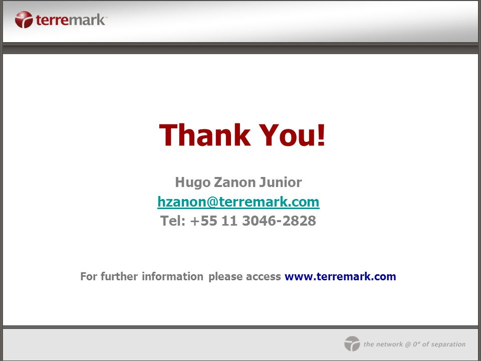 For further information please access www.terremark.com