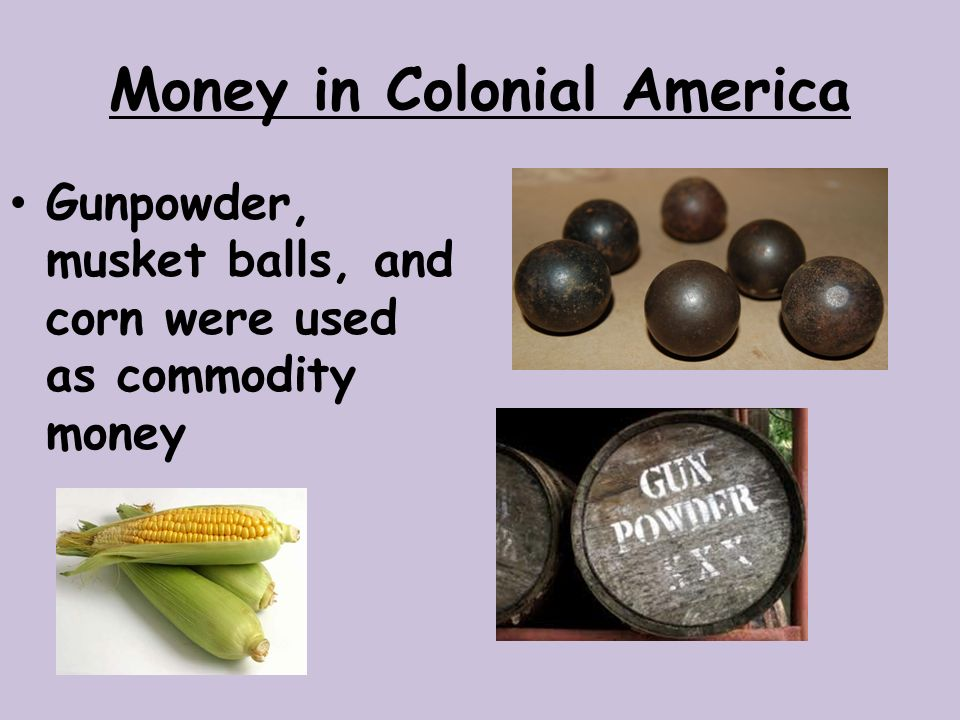Money in Colonial America