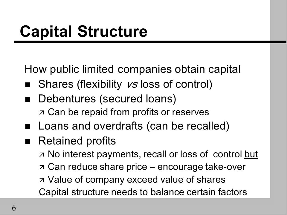 factors determining capital structure Aswath damodaran 1 corporate finance: capital structure and financing decisions aswath damodaran stern school of business.