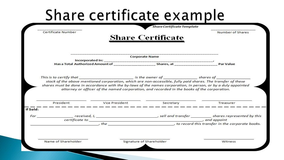 Corporate Secretary Certificate Template