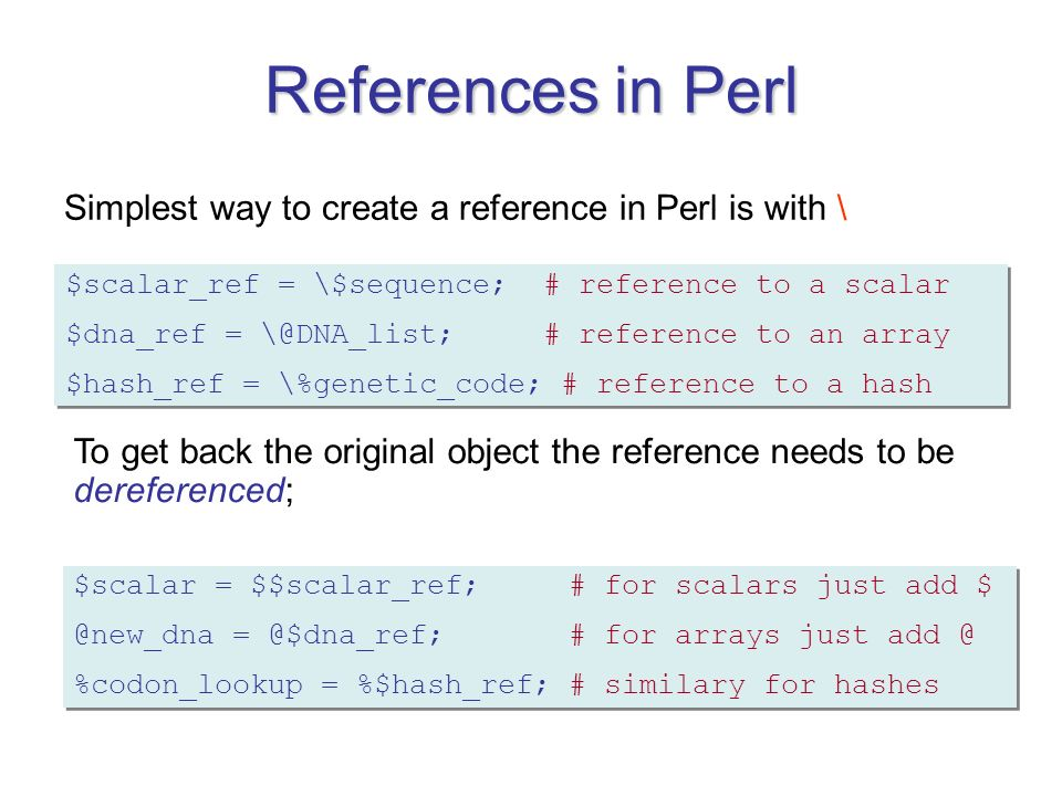 29 references - A List Of References