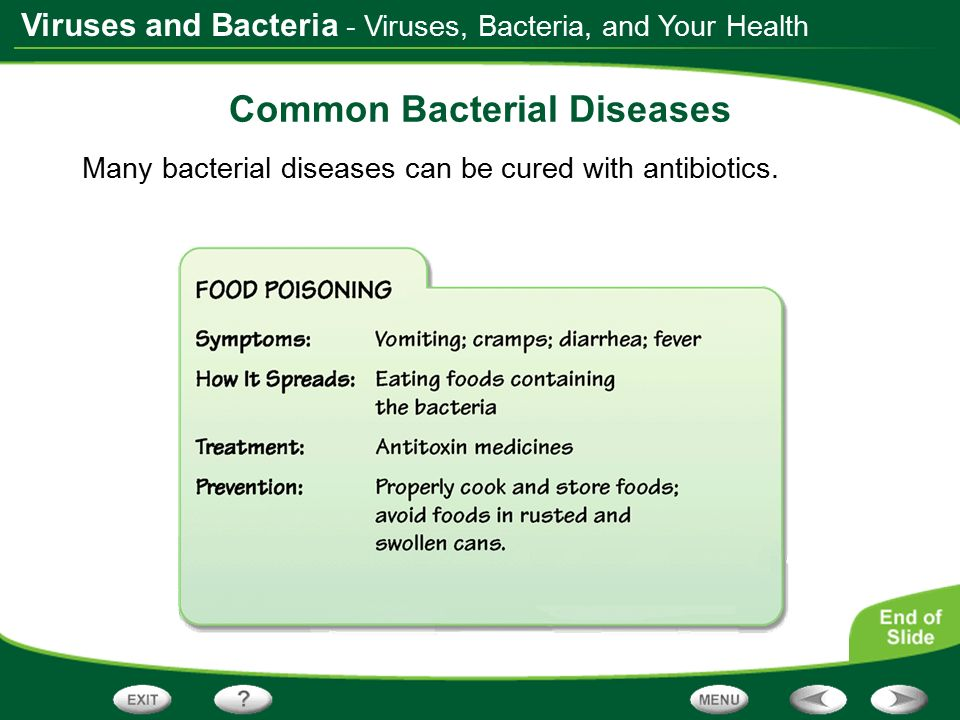 Medications for Bacterial Infection