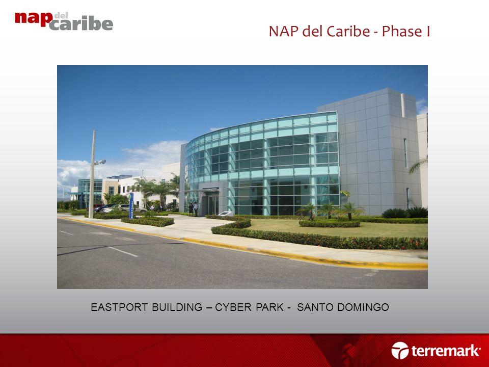 NAP del Caribe - Phase I EASTPORT BUILDING – CYBER PARK - SANTO DOMINGO 12