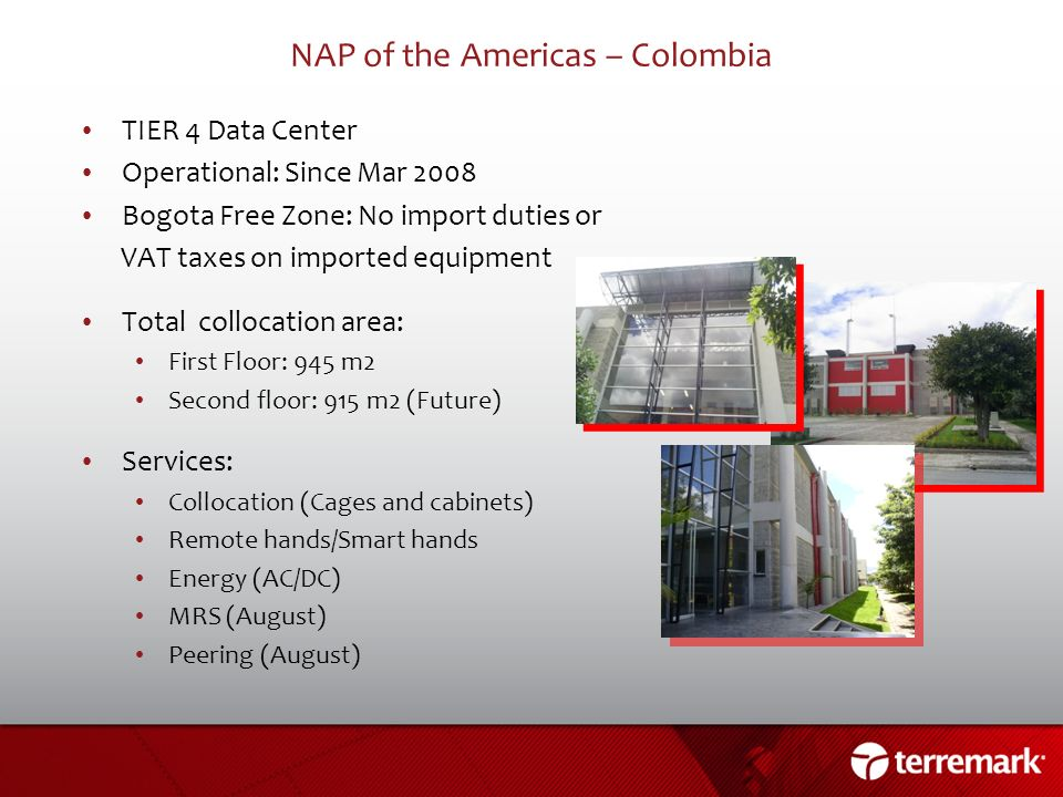 NAP of the Americas – Colombia