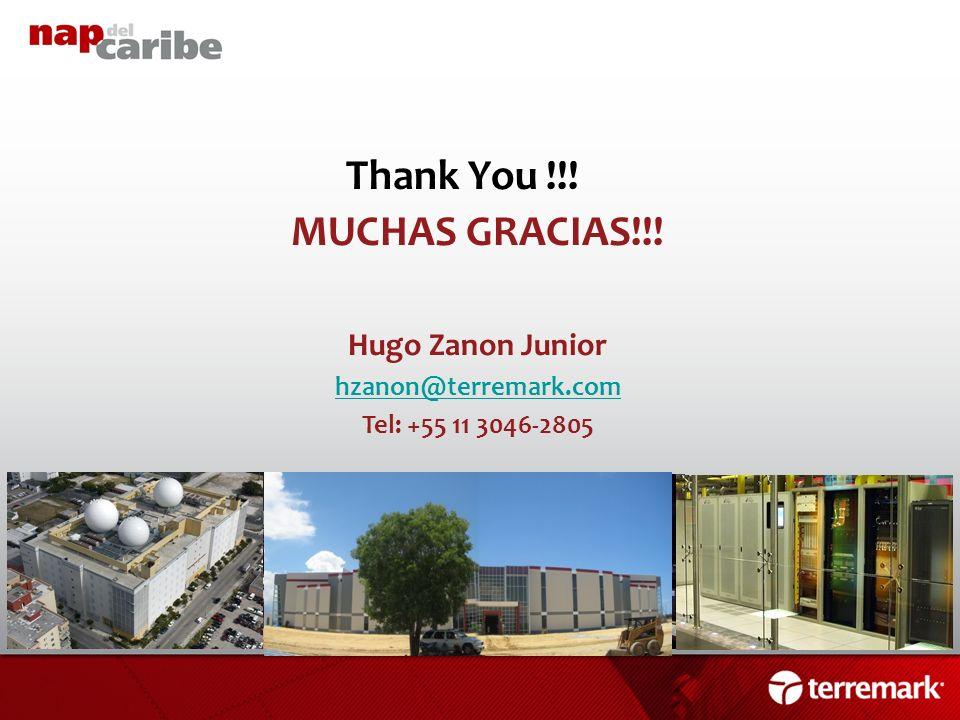 Thank You !!! MUCHAS GRACIAS!!!