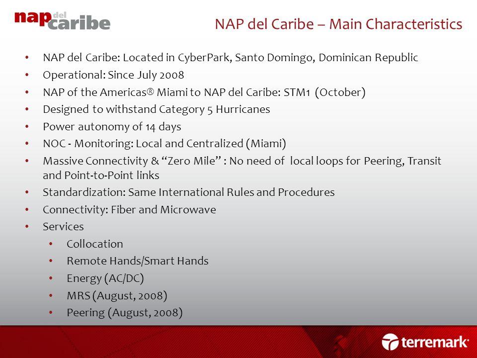 NAP del Caribe – Main Characteristics