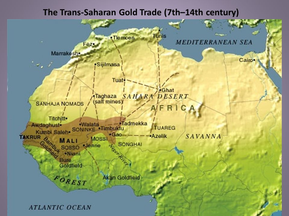 The Trans-Saharan Gold Trade (7th–14th century)