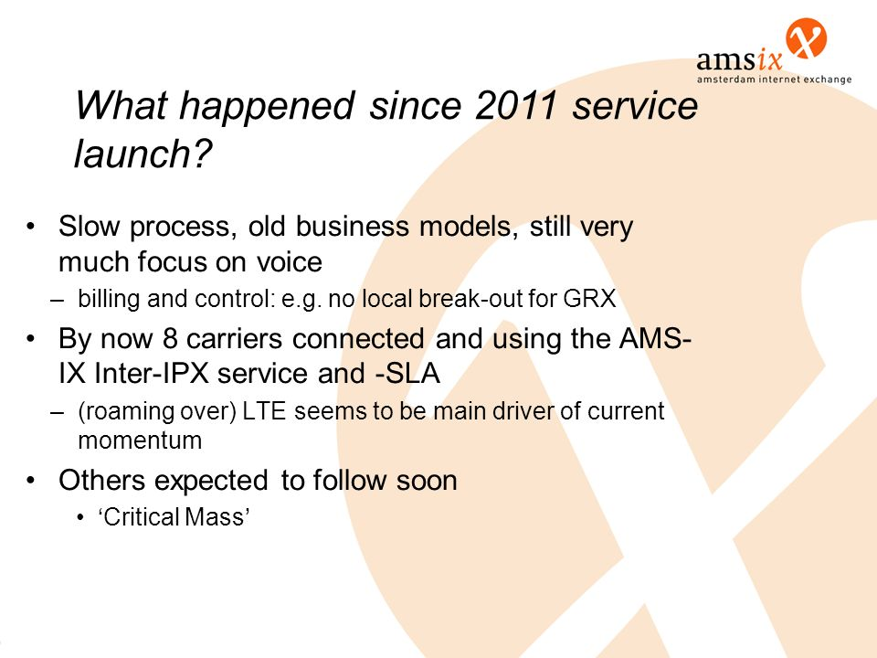 What happened since 2011 service launch
