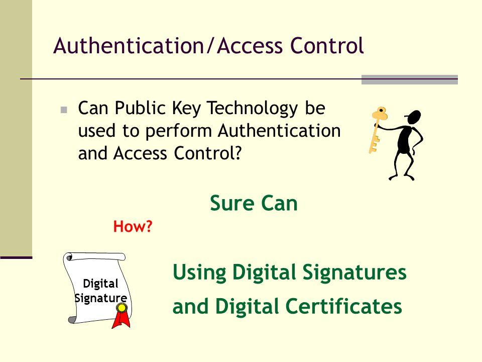 Authentication/Access Control