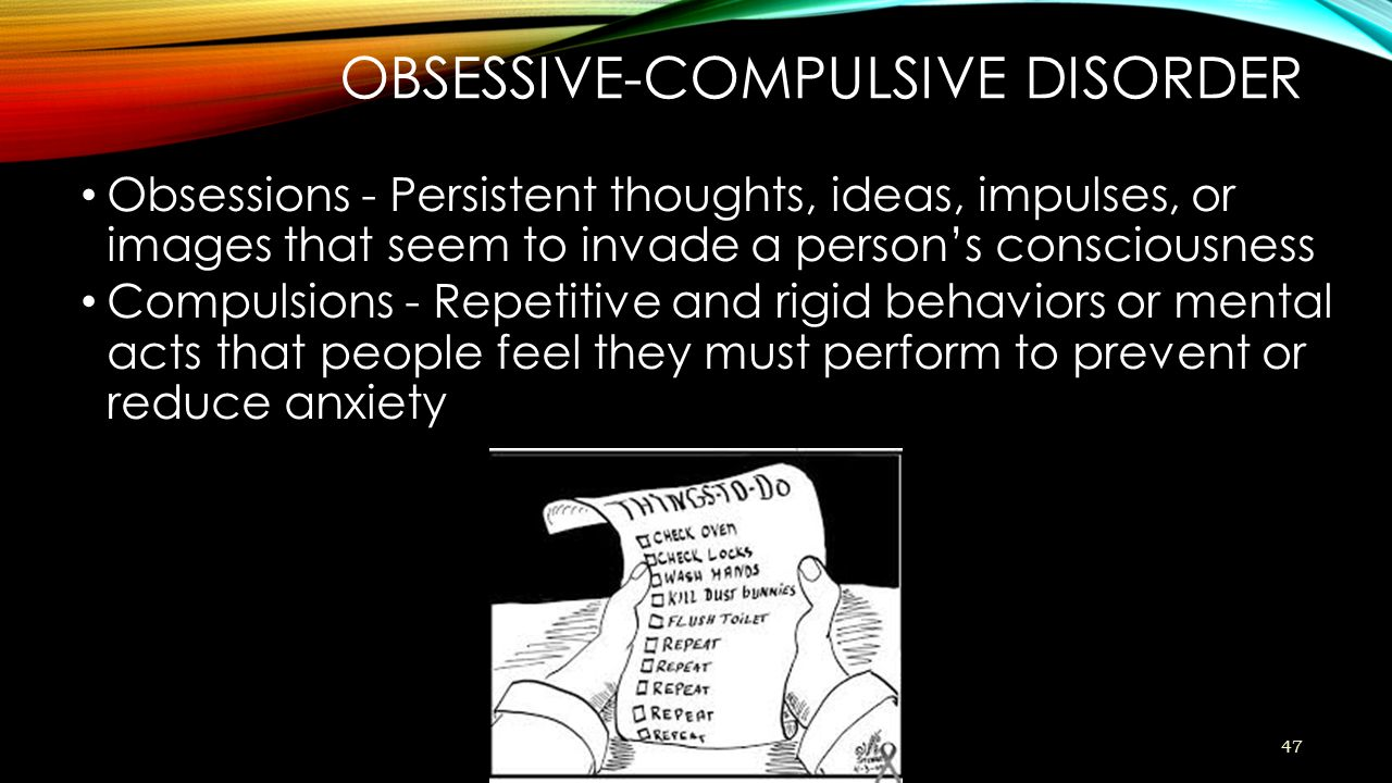 handbook on obsessive compulsive and related disorders