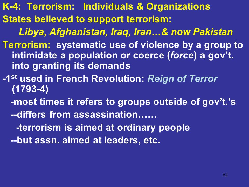 terrorism and ordinary people The psychology of power and evil:  and terrorism,  understand how to enable ordinary people to resist such forces and how to promote pro-social.