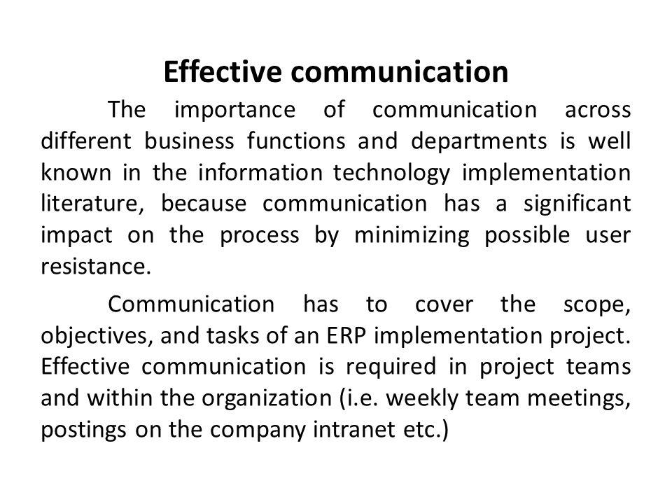 communication within team essay