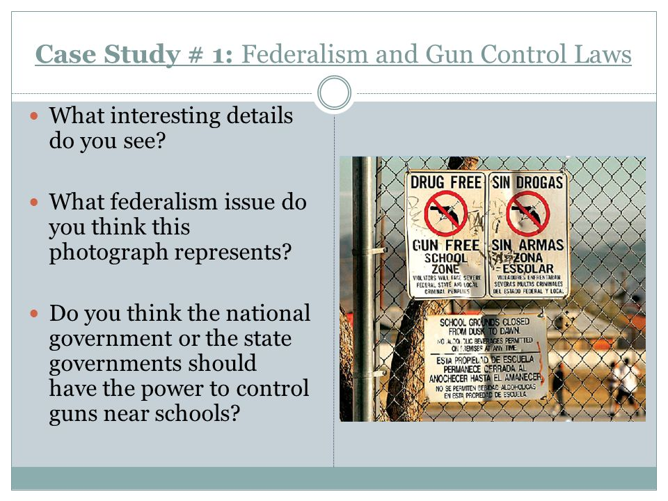 gun control and government laws Federal firearms laws   prohibits the federal government from passing laws prohibiting an individual's right to  of 1934 and the gun control act.