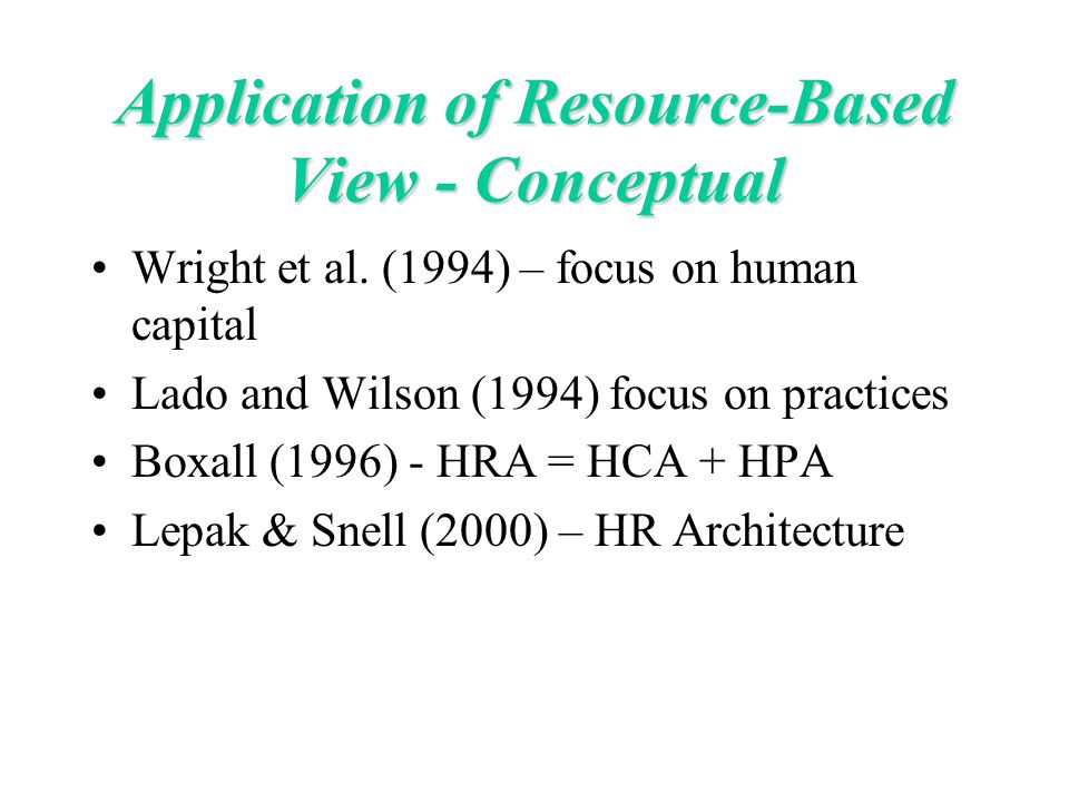 human resource management theory skills application 3e slide