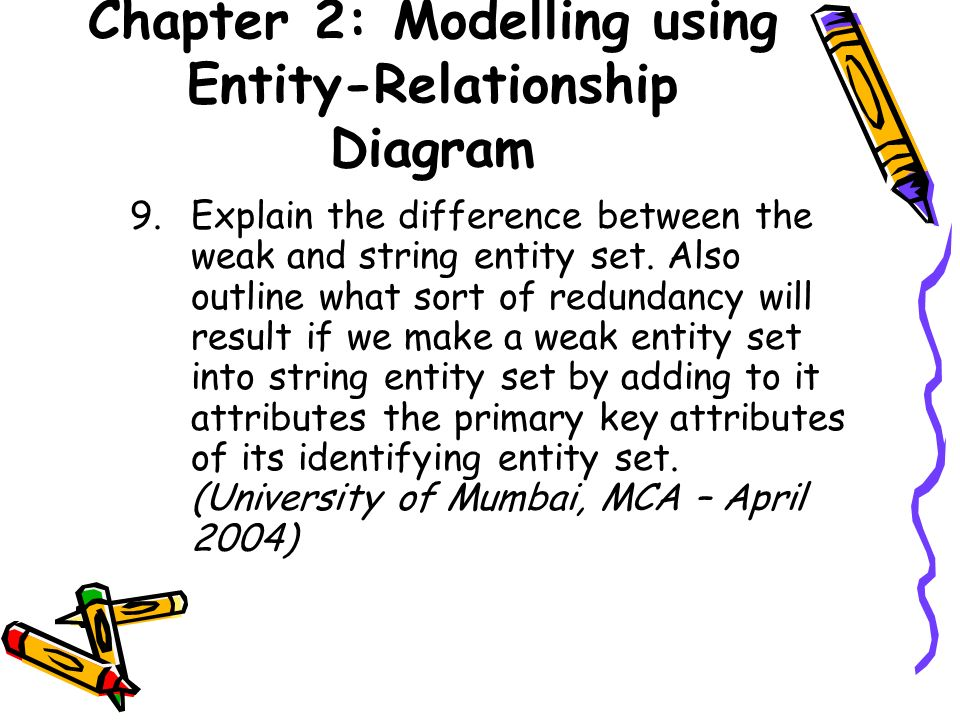 chapter 2  modelling using entity