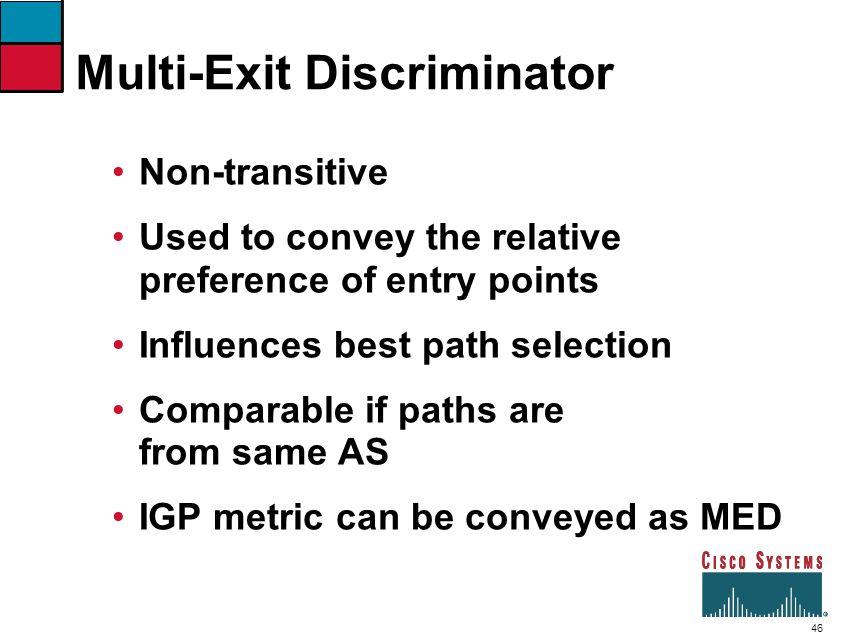 Multi-Exit Discriminator