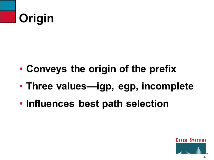 Origin Conveys the origin of the prefix