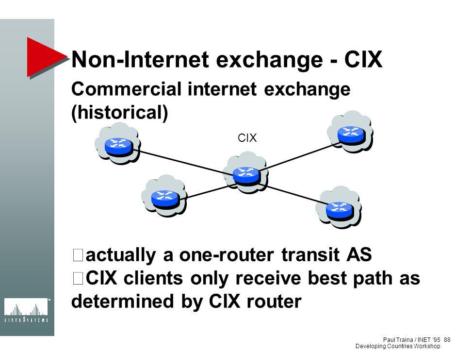 Non-Internet exchange - CIX