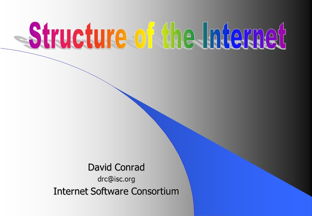 David Conrad drc@isc.org Internet Software Consortium