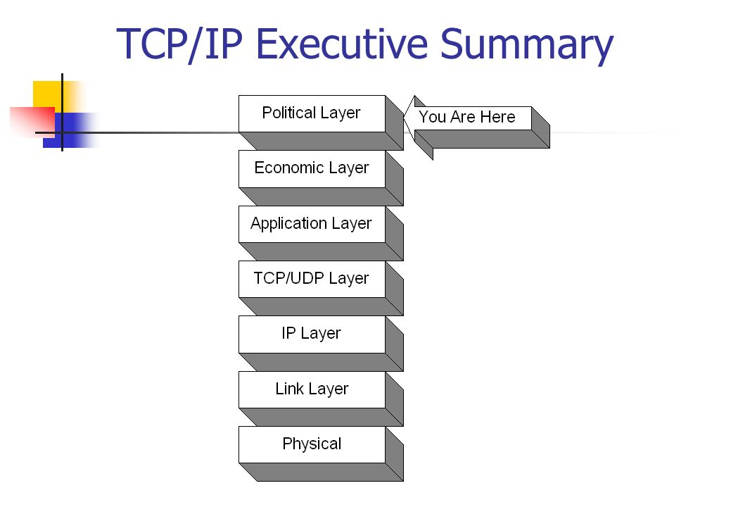 TCP/IP Executive Summary