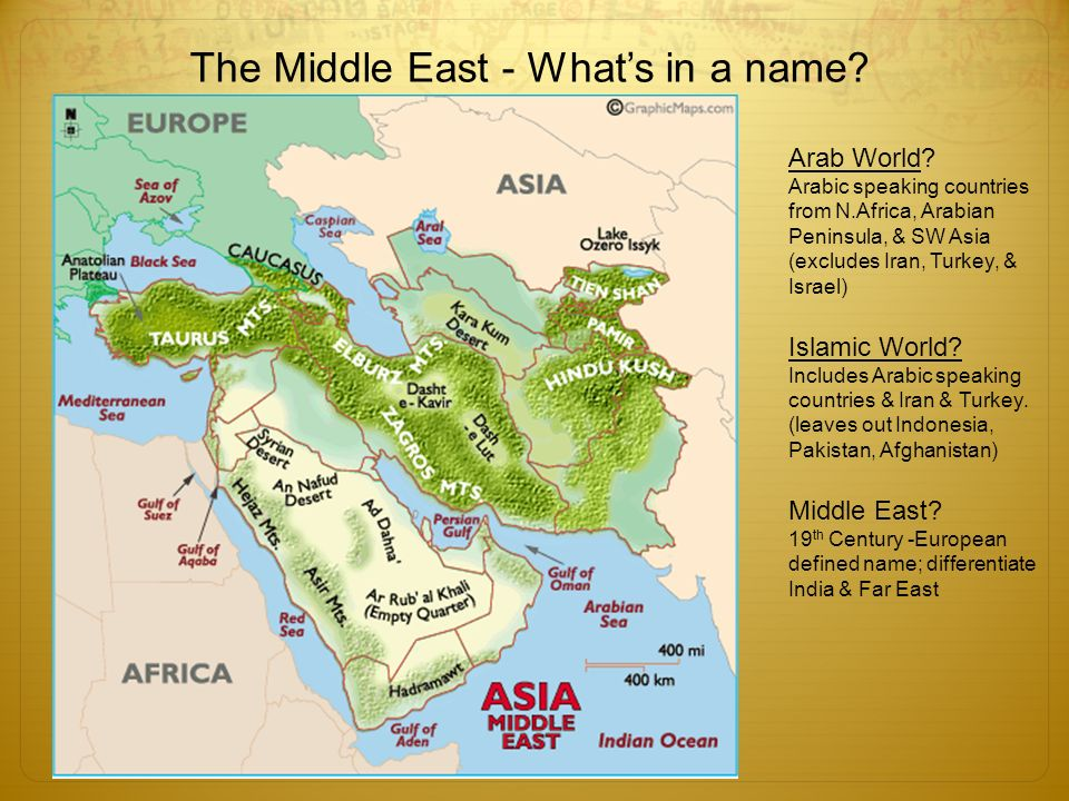 GEOGRAPHY THE MIDDLE EAST ppt video online download