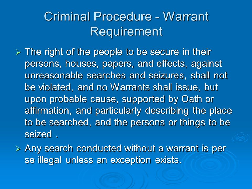 criminal procedure probable cause article Aaron hernandez's probable cause hearing likely a formality print this hearing is more a matter of procedure than anything else.