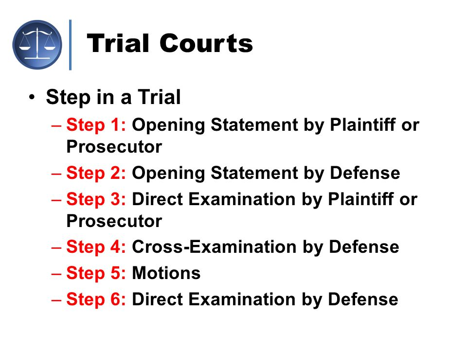 the court system chapter ppt download