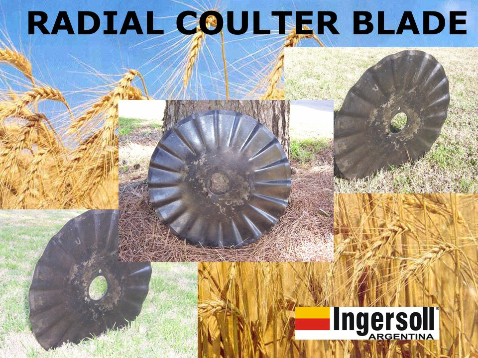 RADIAL COULTER BLADE