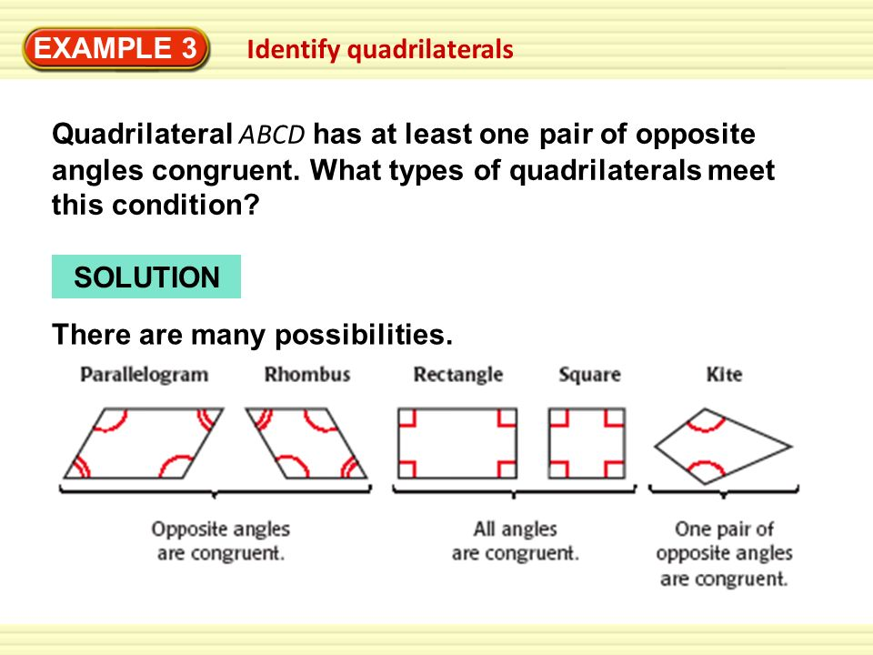 86 examples example 1 stuv has at least one pair of consecutive example 3 identify quadrilaterals ccuart Image collections
