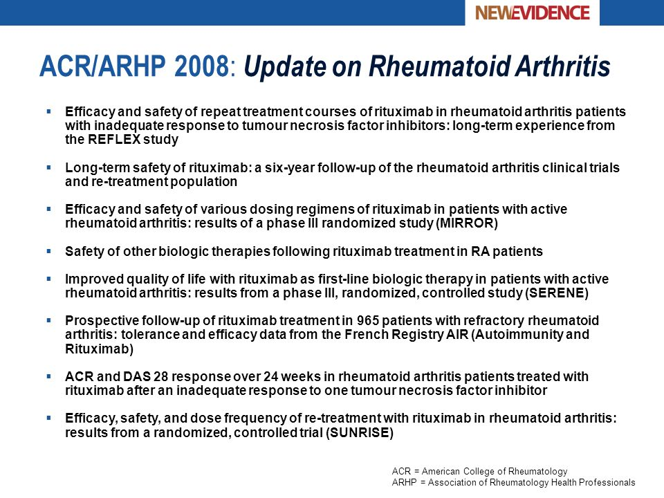 Update: Rheumatoid Arthritis - ppt download
