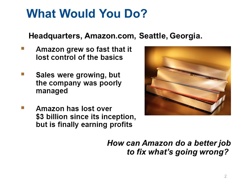 What Would You Do Headquarters, Amazon.com, Seattle, Georgia.