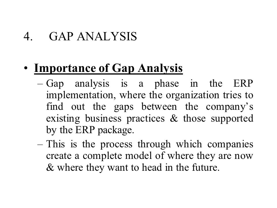 the role of gap analysis in Learn how to conduct a skills gap analysis of your current workforce and decide whether to fill your company's skills gaps with training or hiring programs.