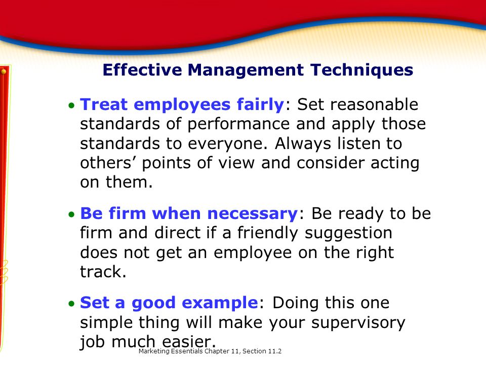 Effective Management Techniques