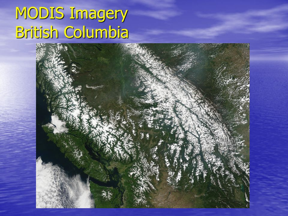 MODIS Imagery British Columbia