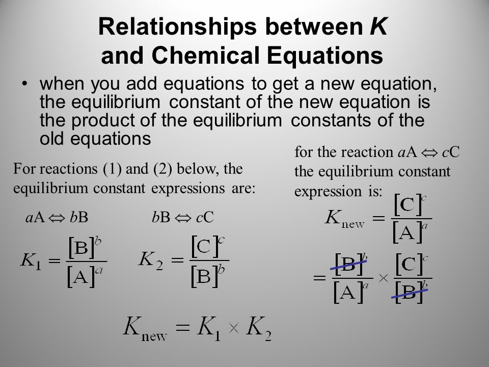 chemical reaction and equilibrium constant expression Reversible reaction: a chemical reaction that can occur in both the forward and   equilibrium constant: symbol k, a quantitative expression for the equilibrium.