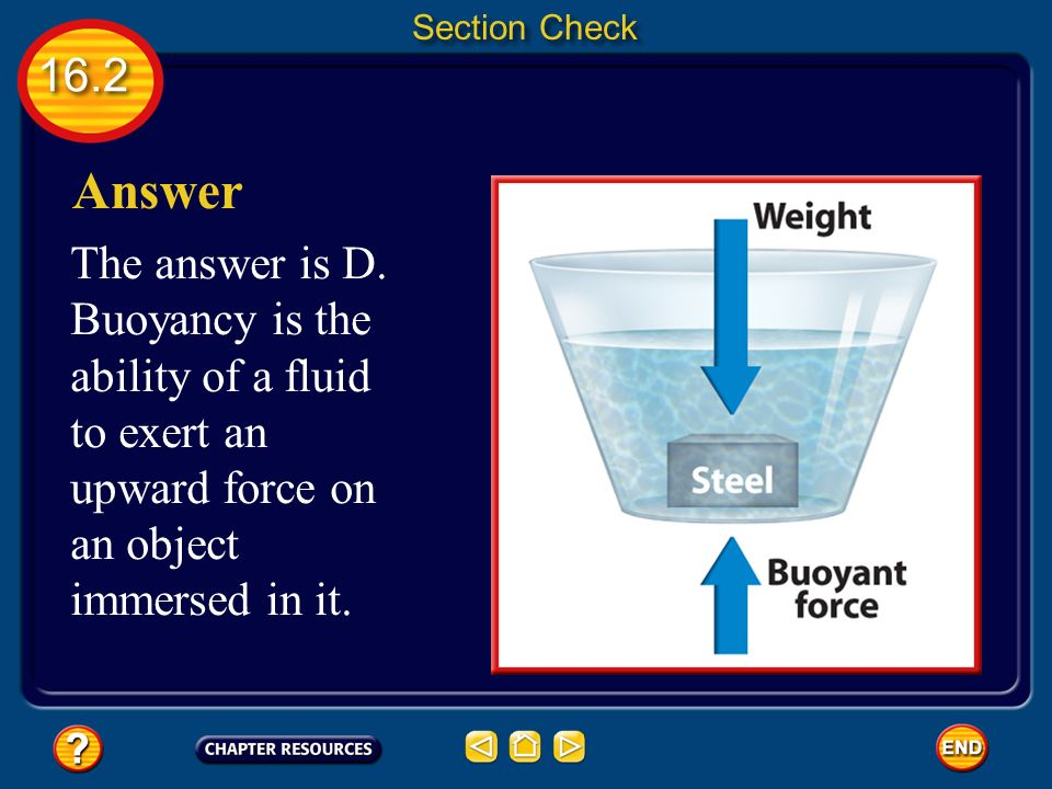 Section Check Answer. The answer is D.