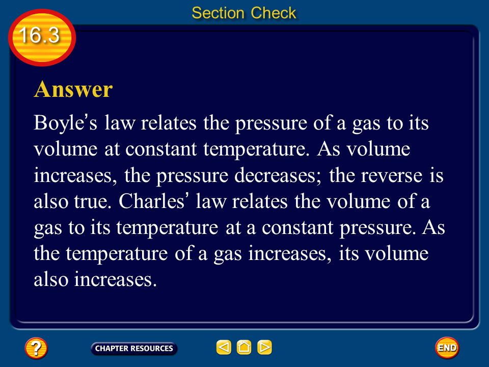 Section Check Answer.