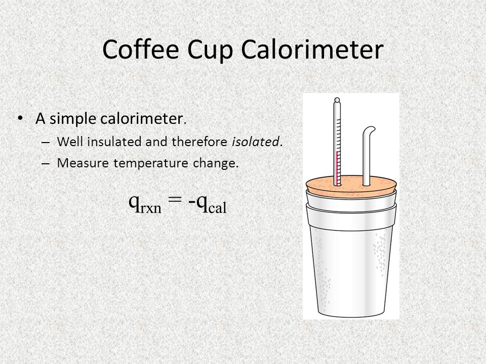 Coffee Cup Calorimeter