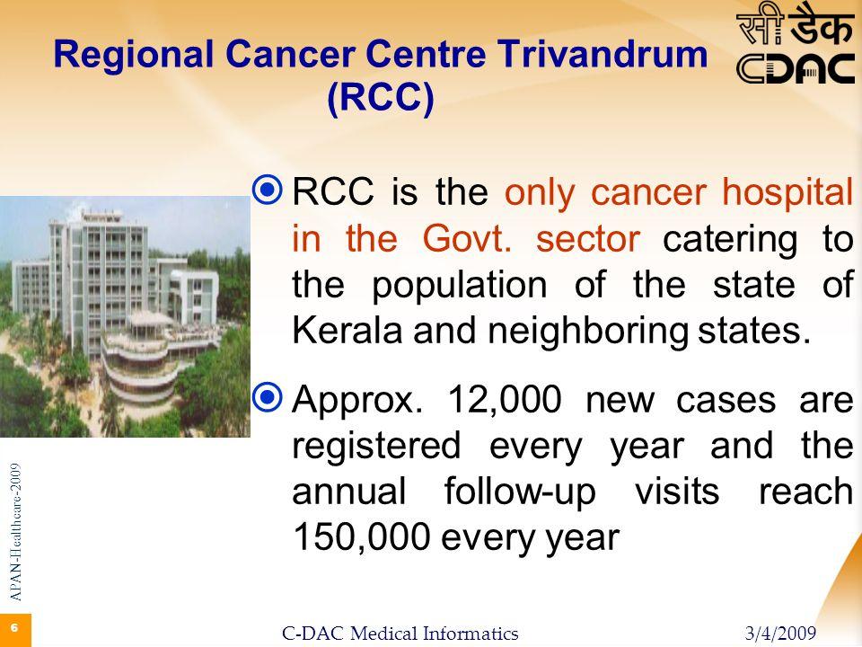 Regional Cancer Centre Trivandrum (RCC)