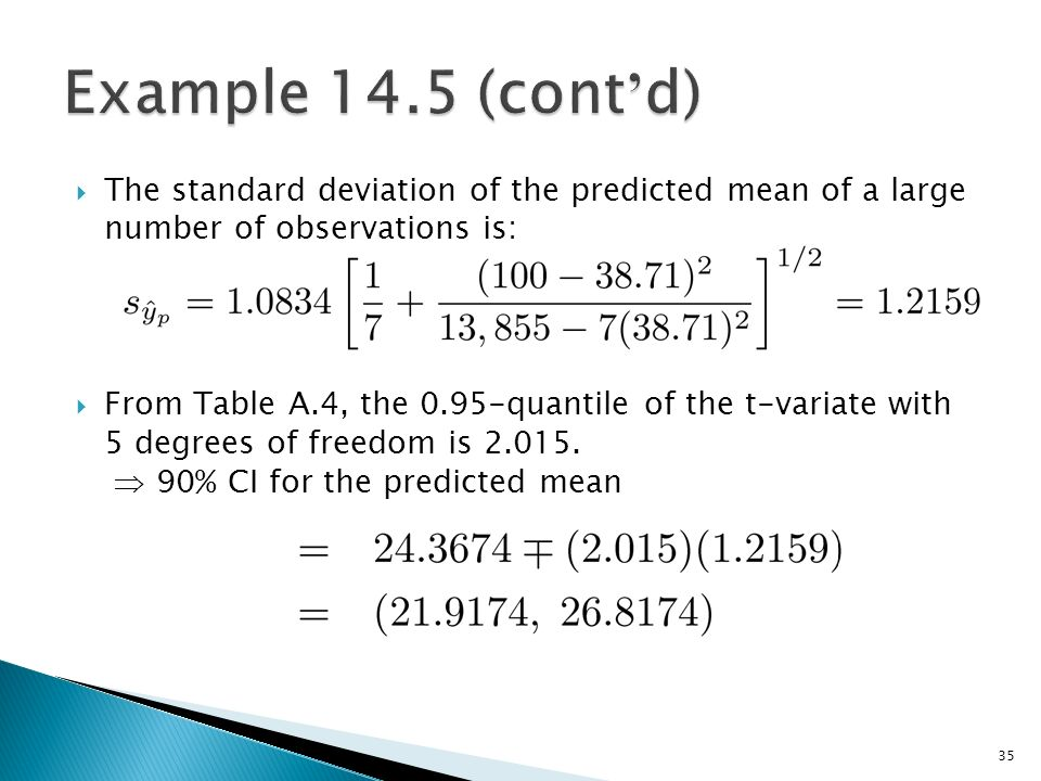 Simple linear regression models ppt download for T table 99 degrees of freedom