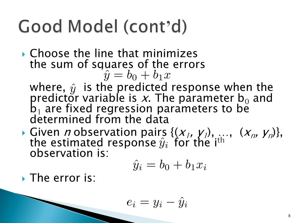 how to choose the best regression model