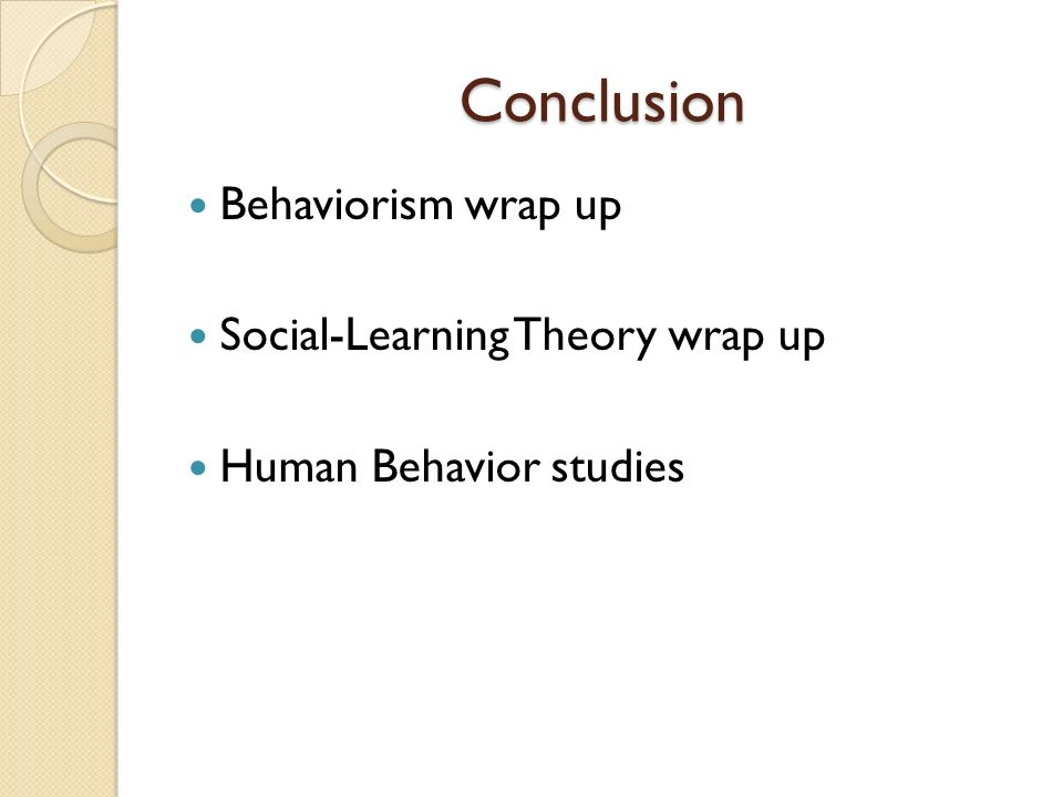 powerpoint presentation behaviorism and social learning theory Social learning theories  ertmer, p a, & newby, t j (1993) behaviorism, cognitivism,  get learning theory summaries ebook.