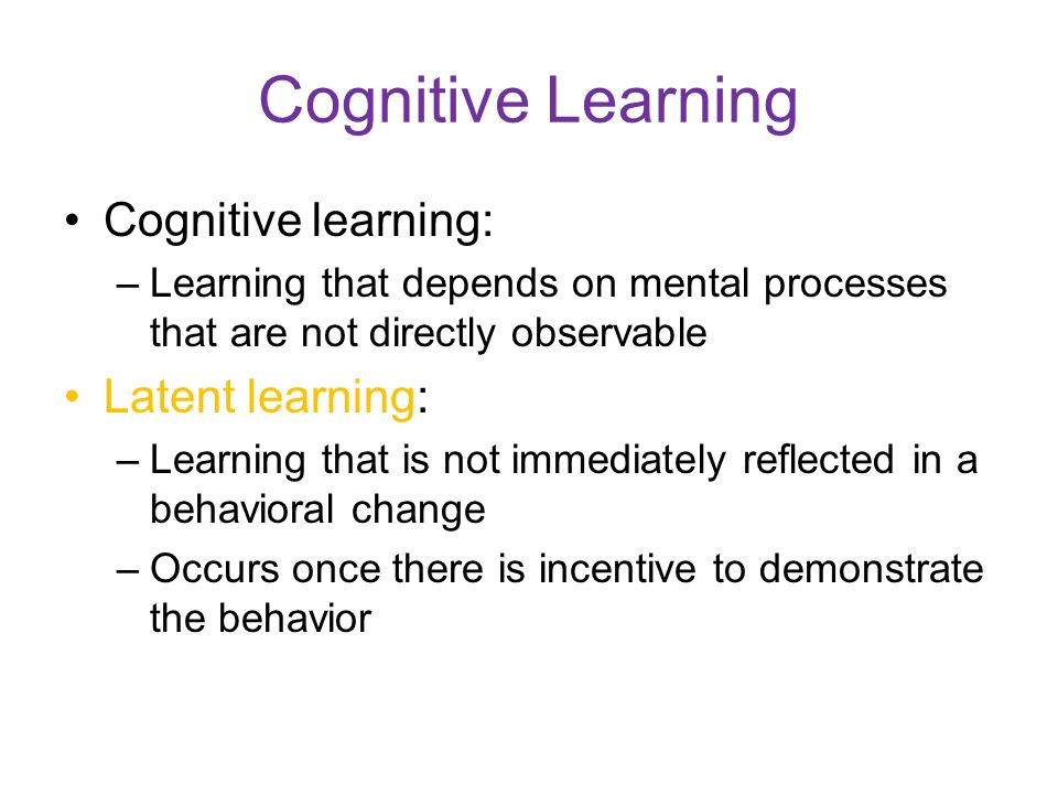 lutzs cognitive learning process Stacey t lutz william g huitt  the paper ends with discussion on the  assessment of cognitive processing in education today and activities for  that it  views learning and memory as discontinuous and multi-staged it is hypothesized  that as.