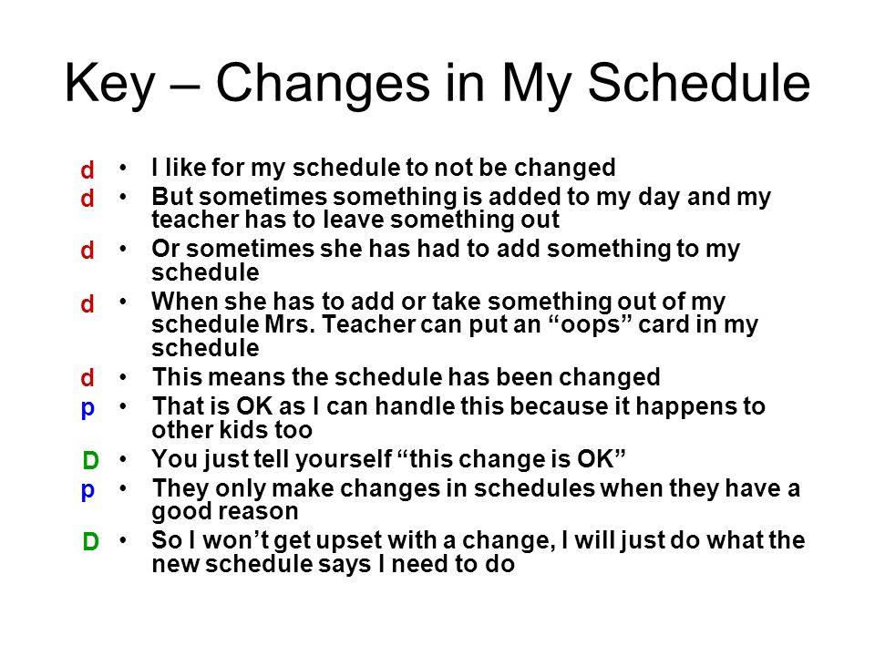 make my schedule online