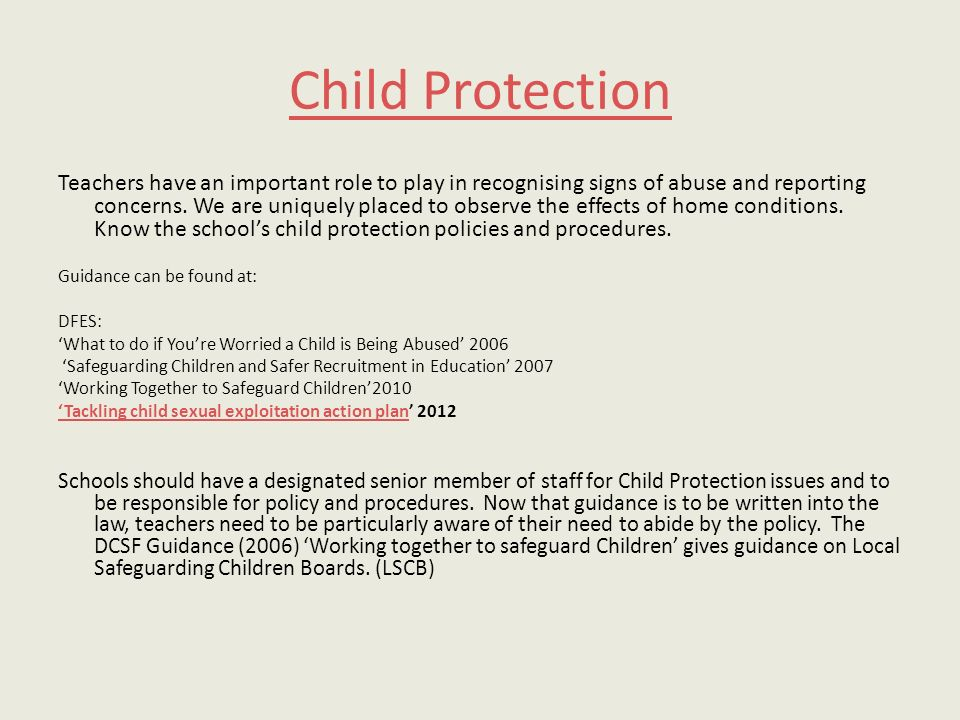 safeguarding children worried that someone you know is