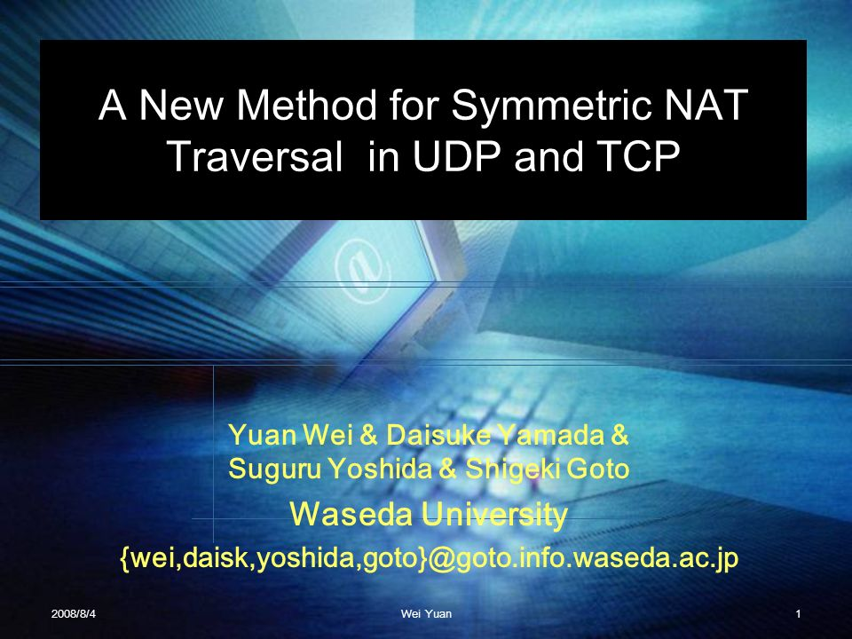 A New Method for Symmetric NAT Traversal in UDP and TCP