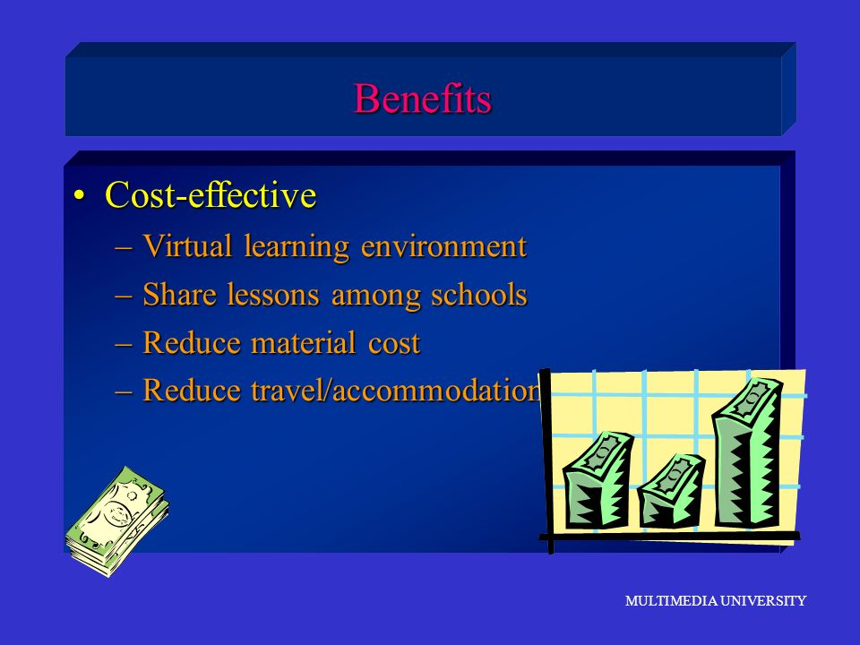 Benefits Cost-effective Virtual learning environment
