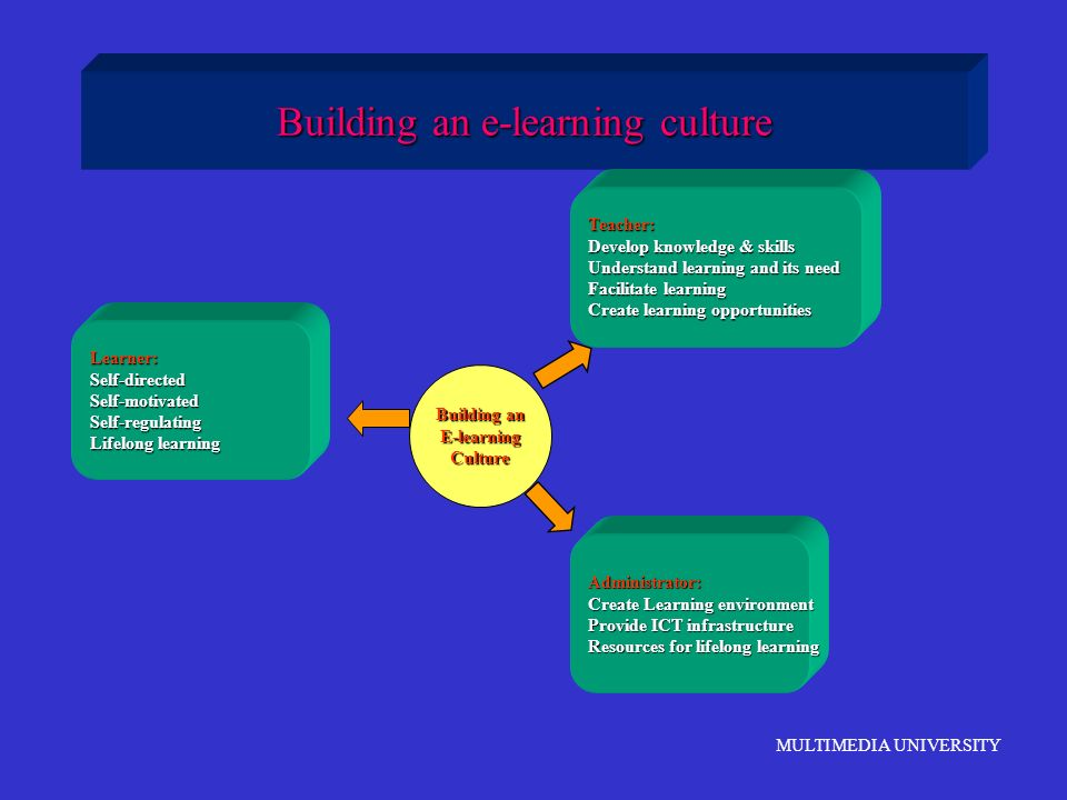 Building an e-learning culture