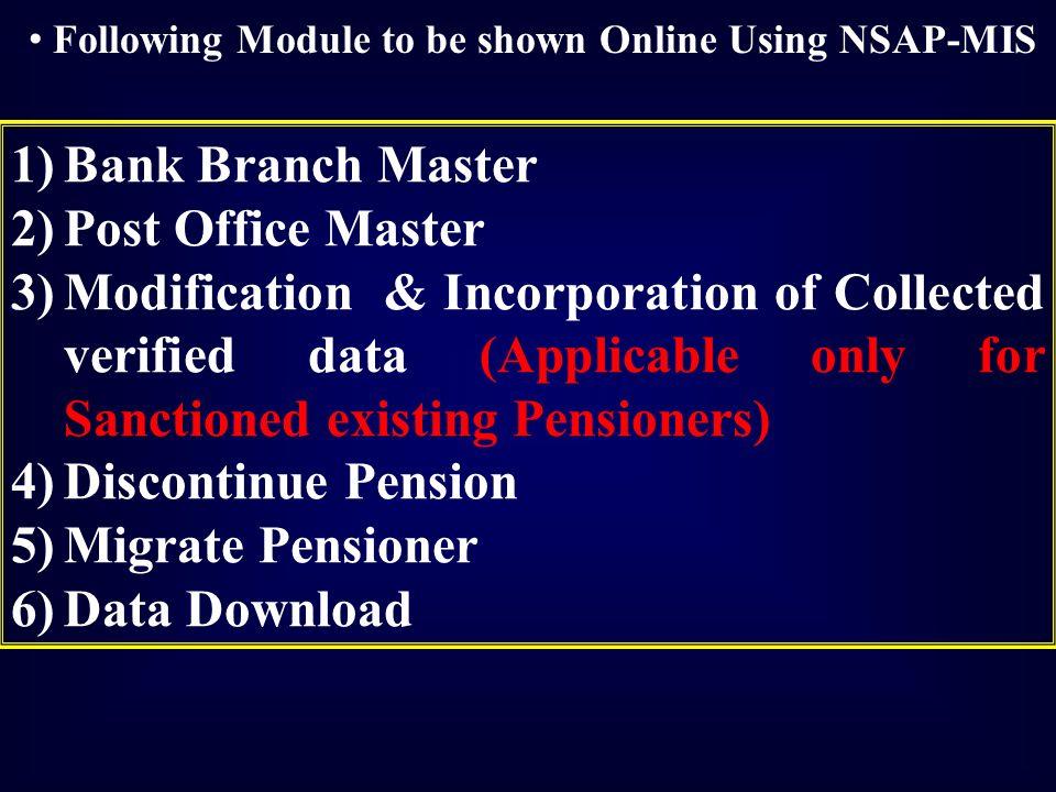 Aadhaar seeding process under nsap ppt video online download - Internet banking post office ...